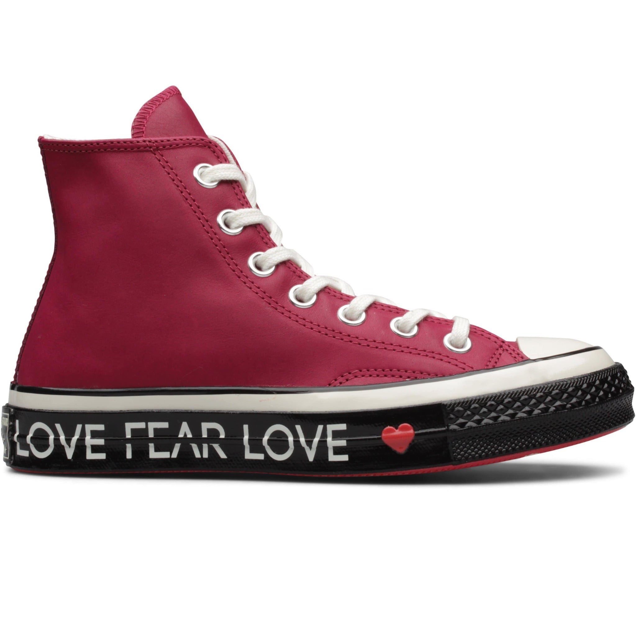WOMEN S CHUCK 70 HI LOVE GRAPHIC Rhubarb Egret Black – Bodega 009242944593
