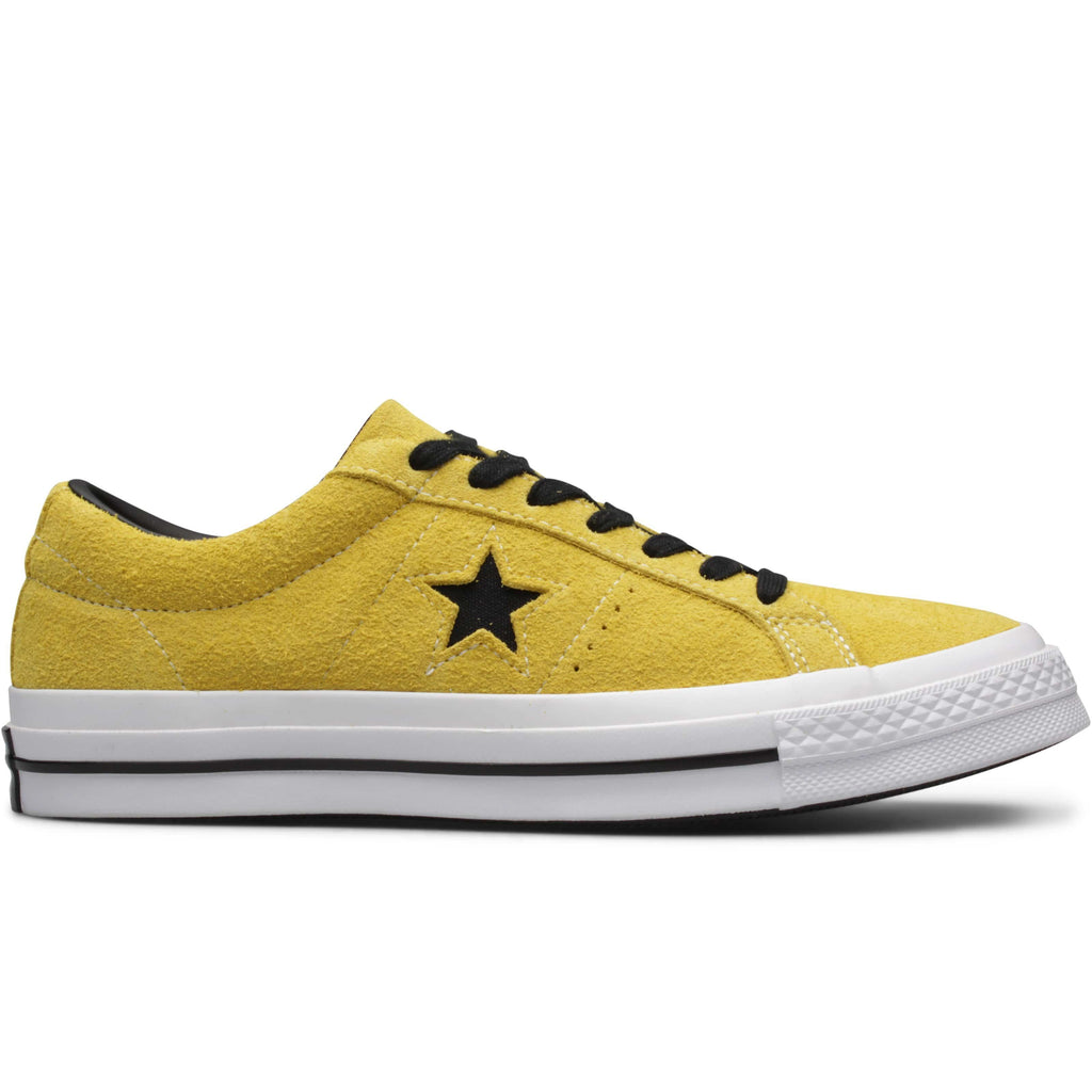 new concept 163b6 0f427 Converse ONE STAR OX Bold CitronBlackWhite