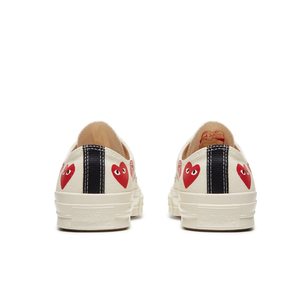 Converse Shoes x CDG Play CHUCK TAYLOR LOW