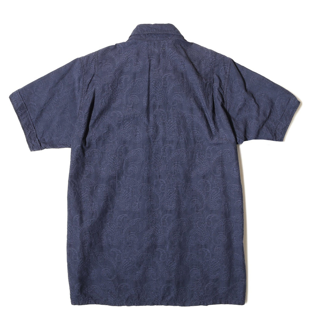 Engineered Garments CAMP SHIRT Dark Navy