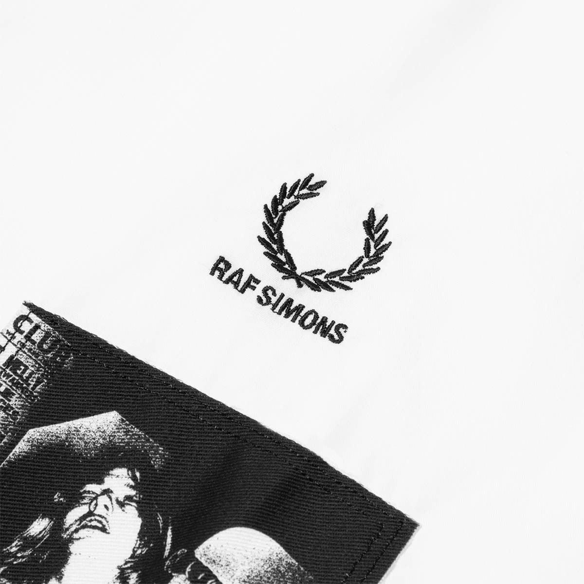 Fred Perry Shirts x Raf Simons PATCHED OVERSIZED SHIRT