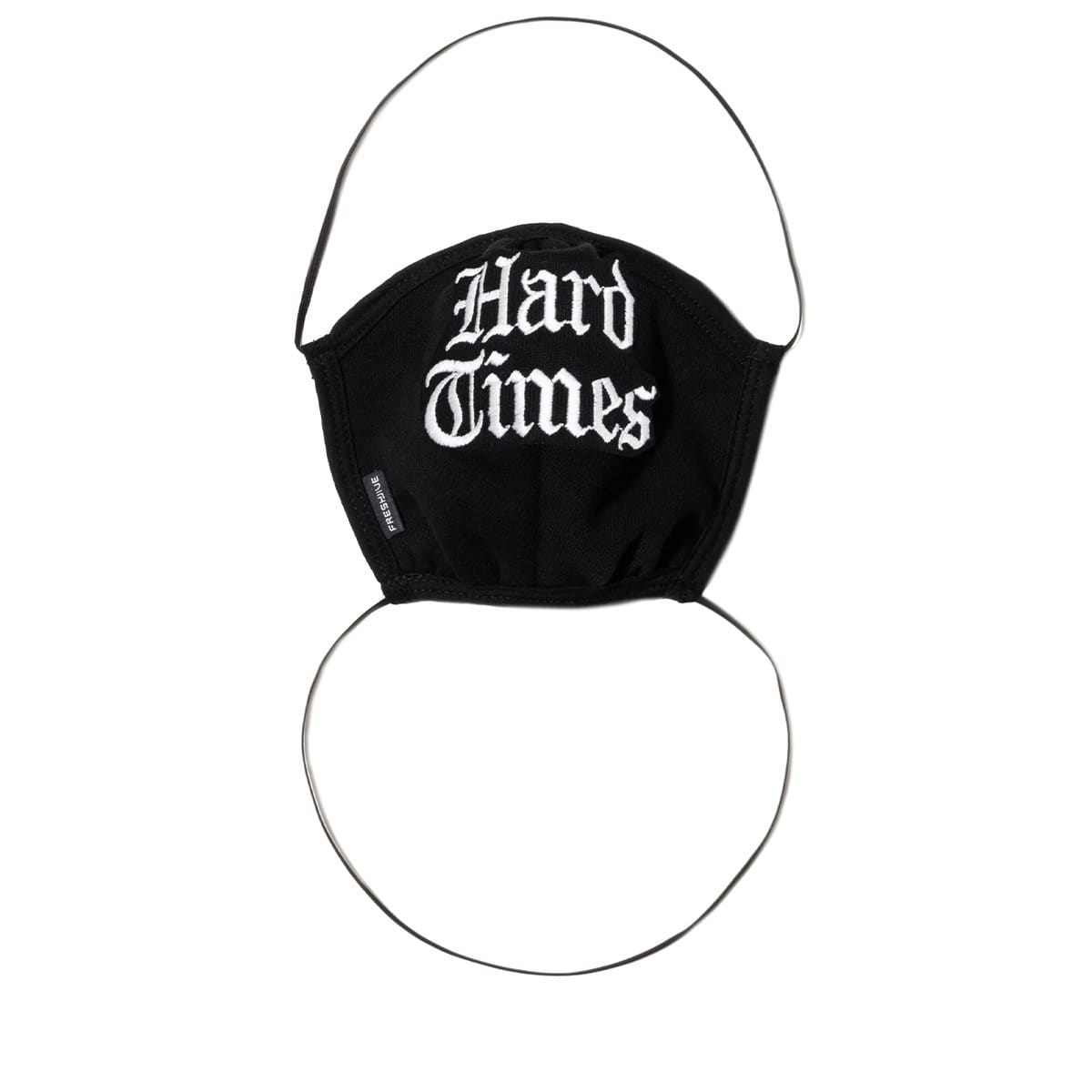 Freshjive Bags & Accessories BLACK / O/S HARD TIMES FACE MASK