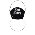 Load image into Gallery viewer, Freshjive Bags & Accessories BLACK / O/S HARD TIMES FACE MASK