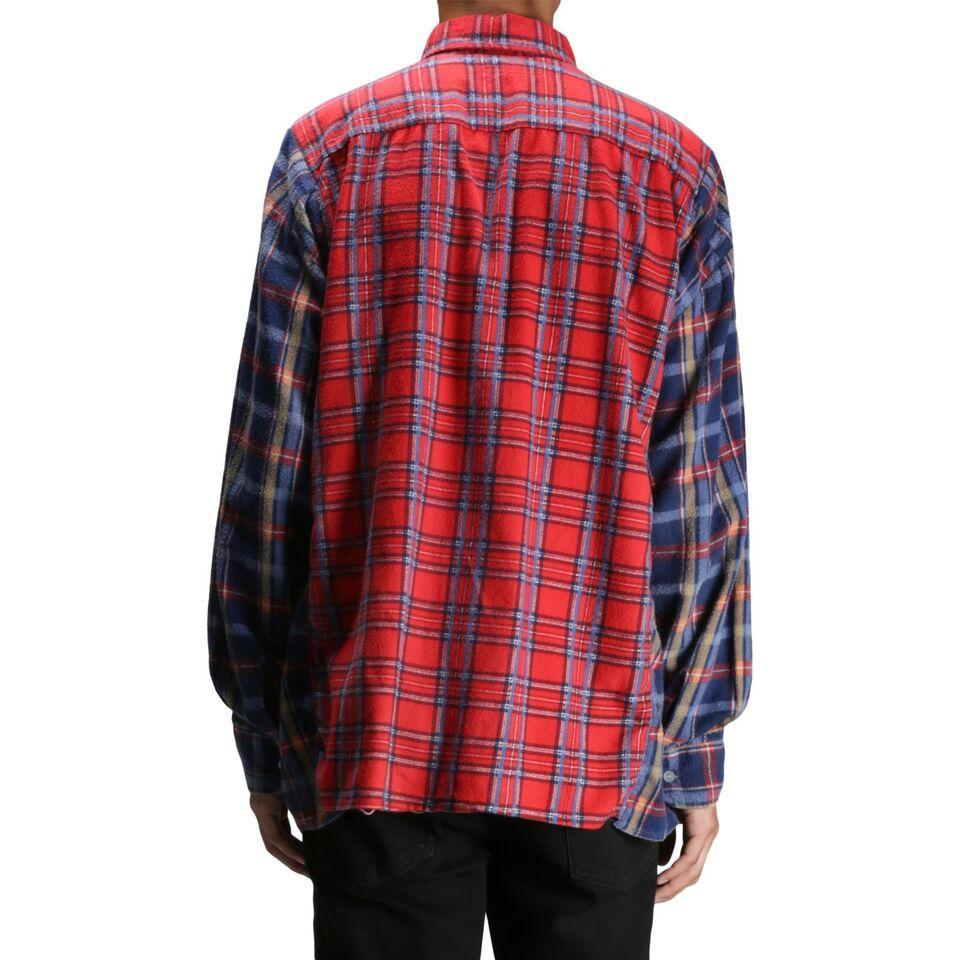 Needles WIDE RIBBON FLANNEL SHIRT 1 Assorted Colors
