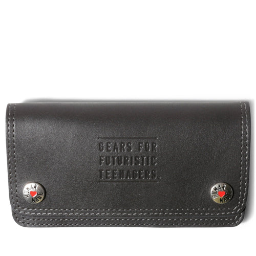 Human Made LEATHER WALLET Black