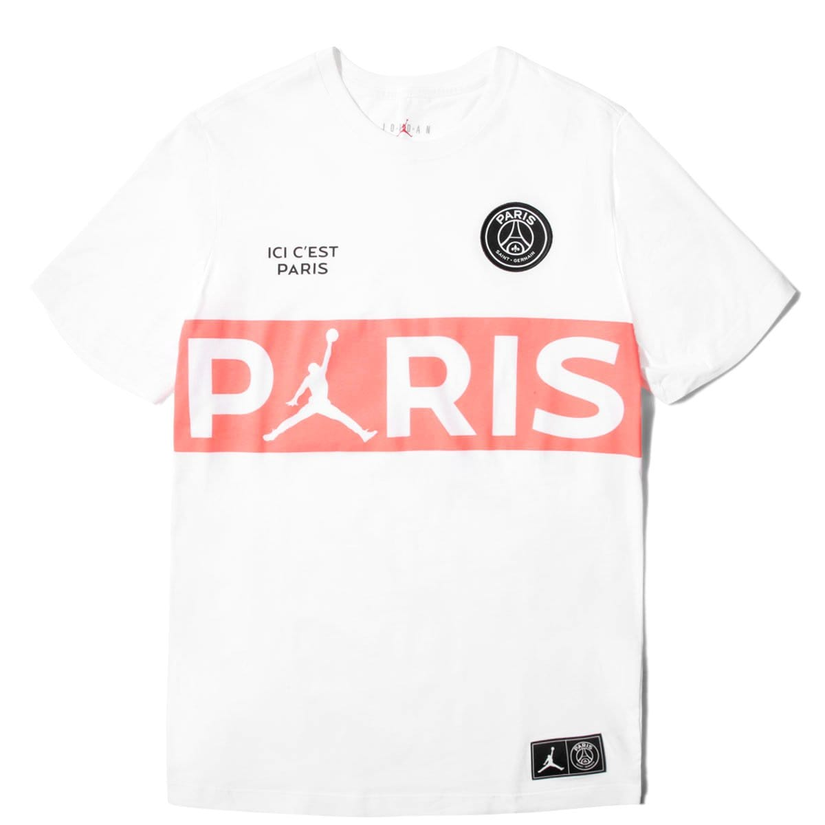 x Paris Saint Germain T SHIRT BQ8389 100 – Bodega