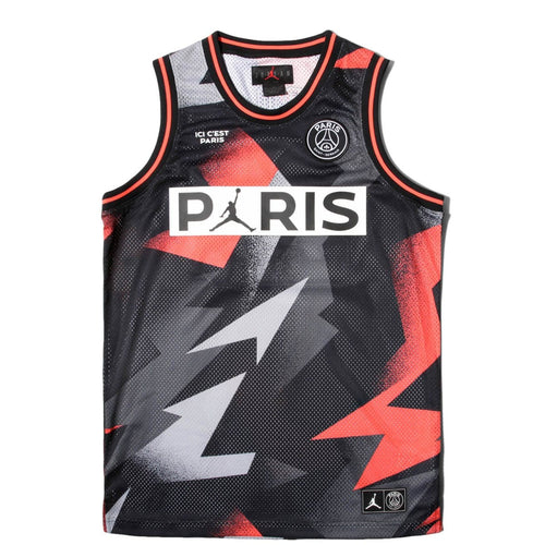 X Paris Saint Germain Mesh Jersey Bq8356 010 Bodega