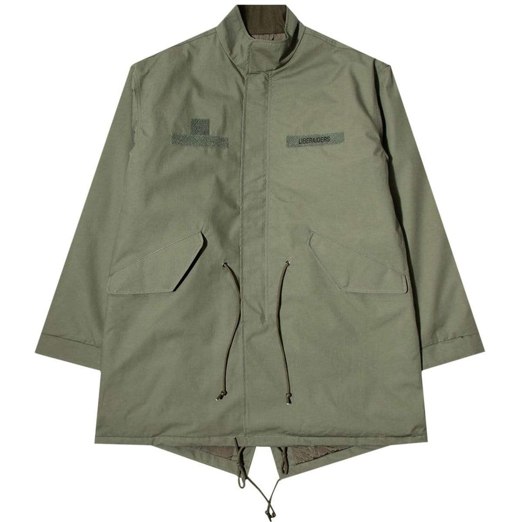 Liberaiders Outerwear 3LAYER FISH TAIL COAT
