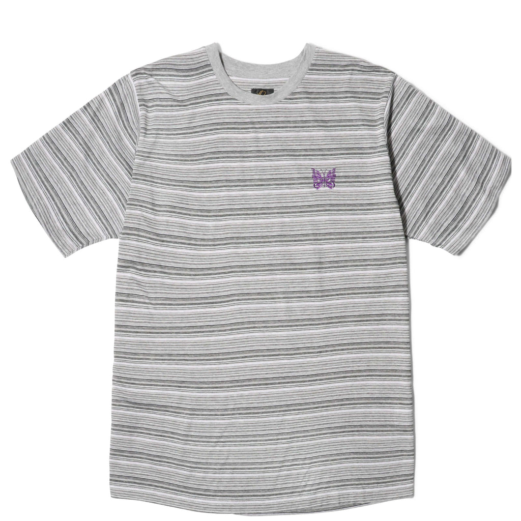 Needles S/S PAPILLON EMB.TEE Grey