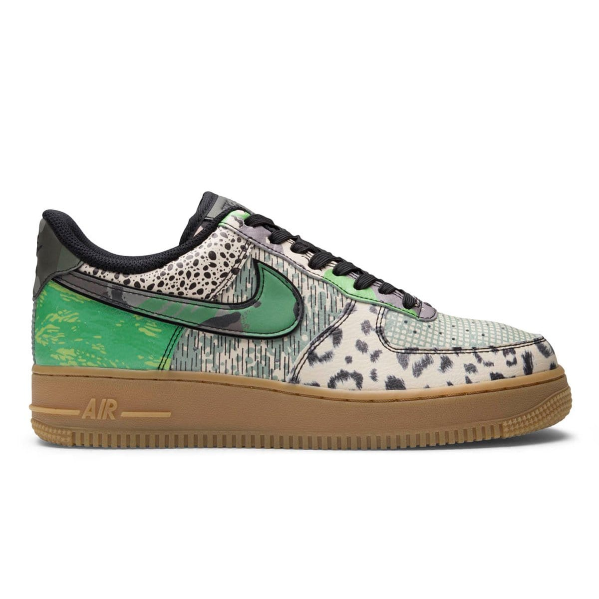 AIR FORCE 1 '07 ALL STAR BlackGreen Spark [002] 7