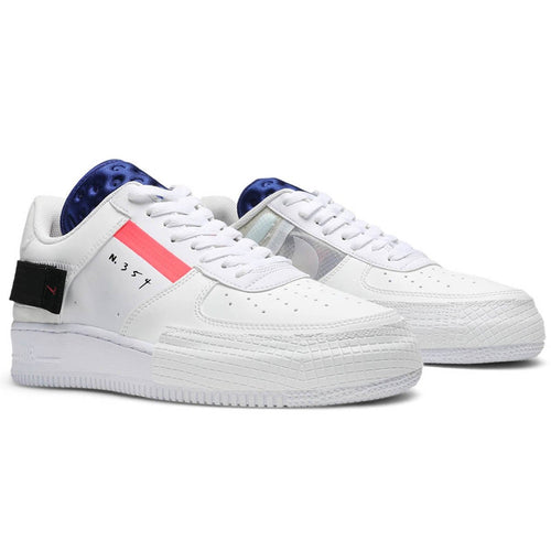 billig Nike Air Force 1 Type Summit WhiteRed Orbit White