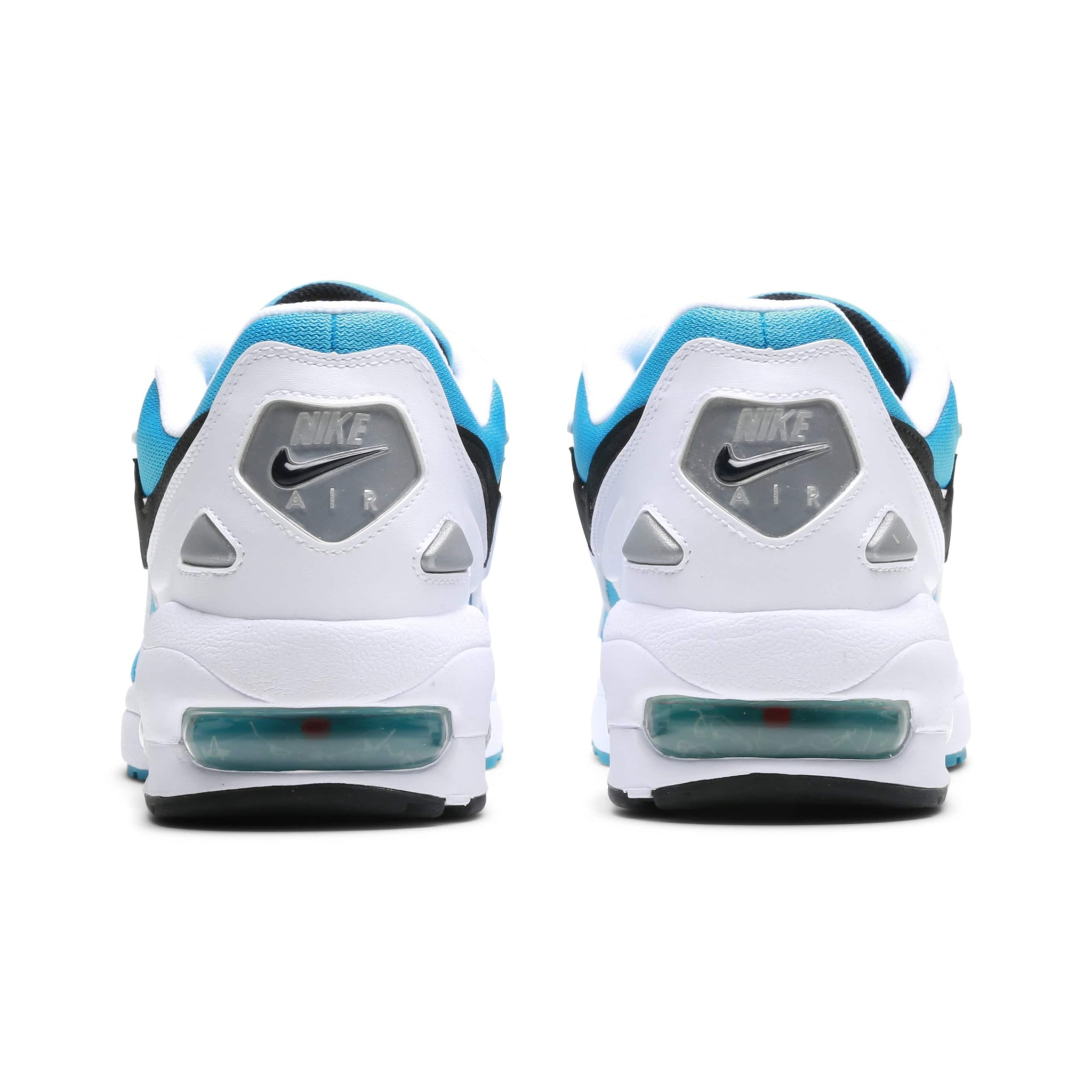 53732c1be9f AIR MAX2 LIGHT (WHITE BLACK-BLUE LAGOON-LASER ORANGE)  AO1741-100 ...