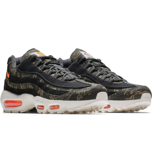 ce14d4a54365b x Carhartt W.I.P AIR MAX 95 (BLACK/TOTAL ORANGE-SAIL)[AV3866-001 ...