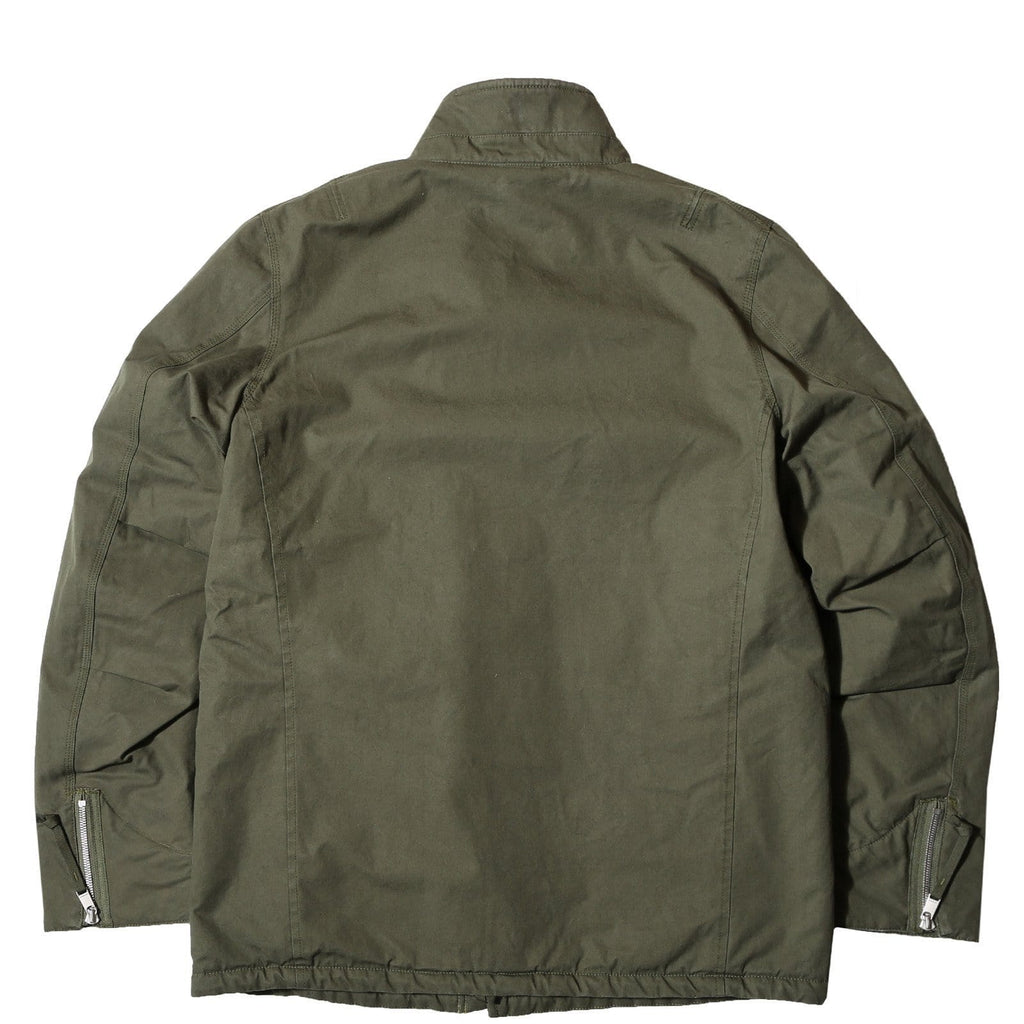 Nonnative FARMER BOA JACKET COTTON ARMY CLOTH WITH WINDSTOPPER® Olive