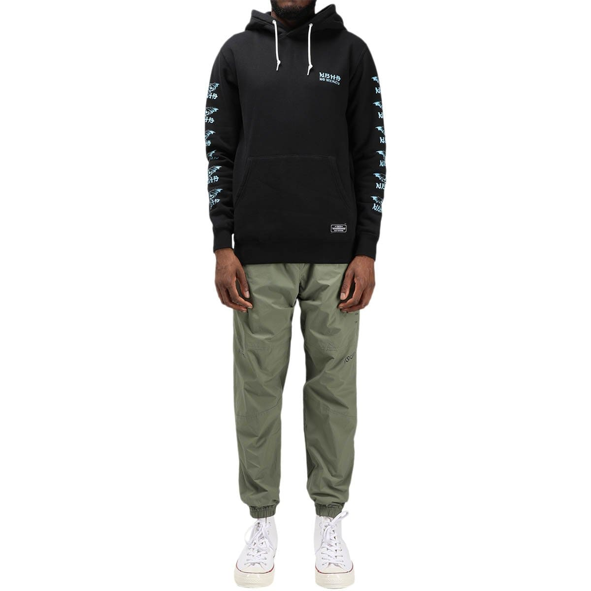 Neighborhood Classic-S / C-Hooded LS Black
