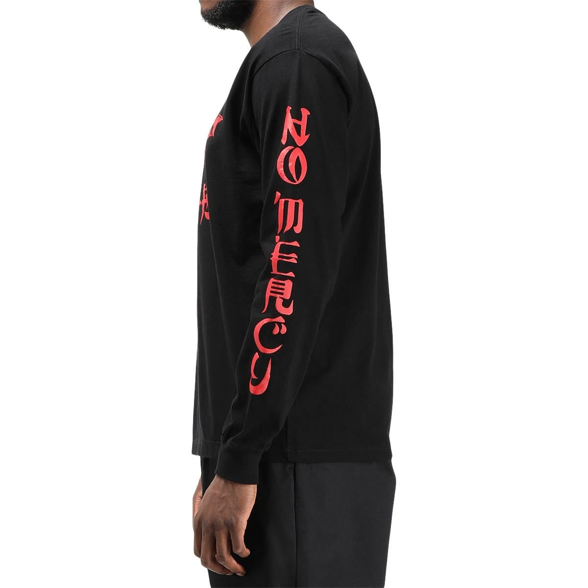 Neighborhood No Mercy-1 / C-Tee LS Black/Red