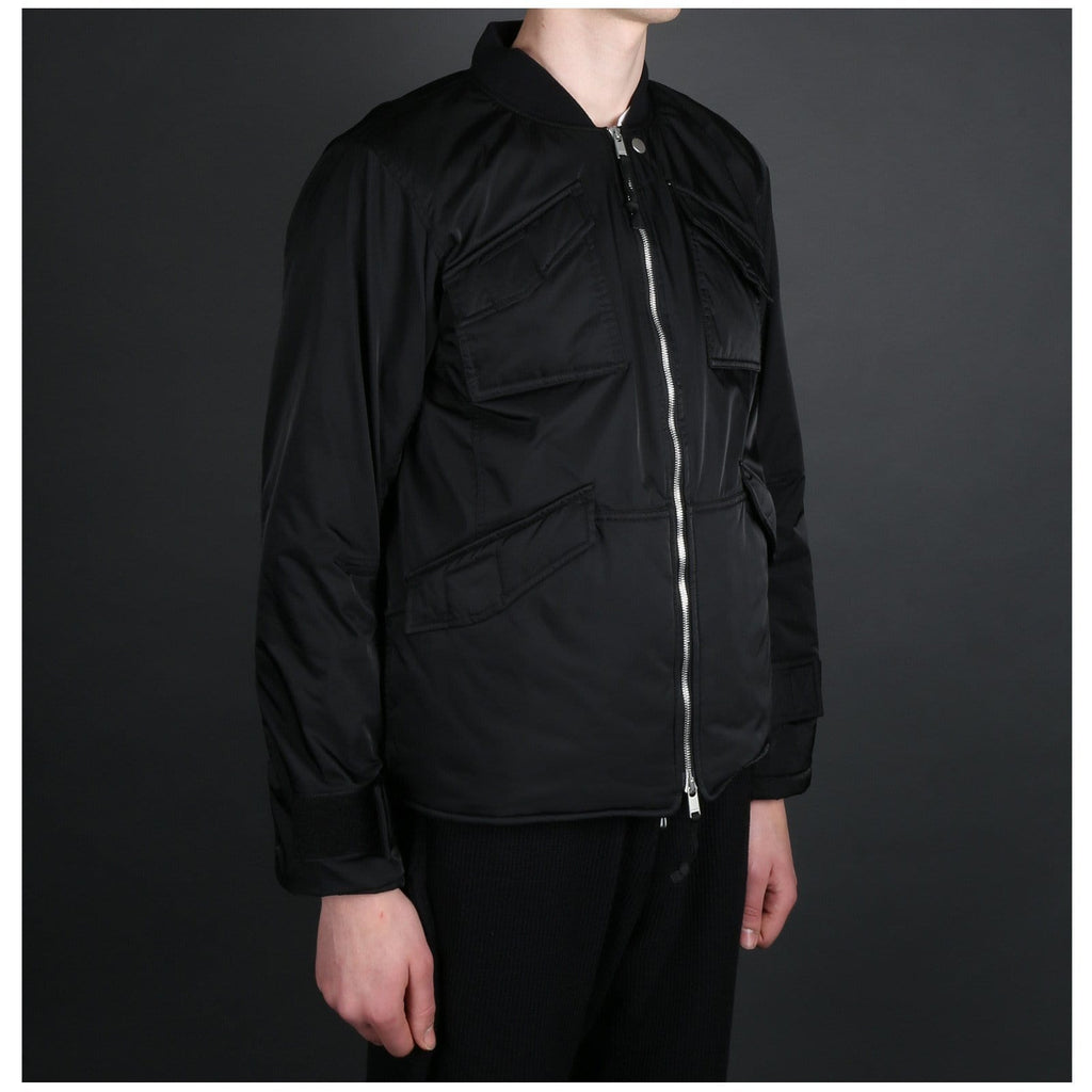 Nonnative TROOPER PUFF JACKET POLY TWILL DICROS SOLO Black