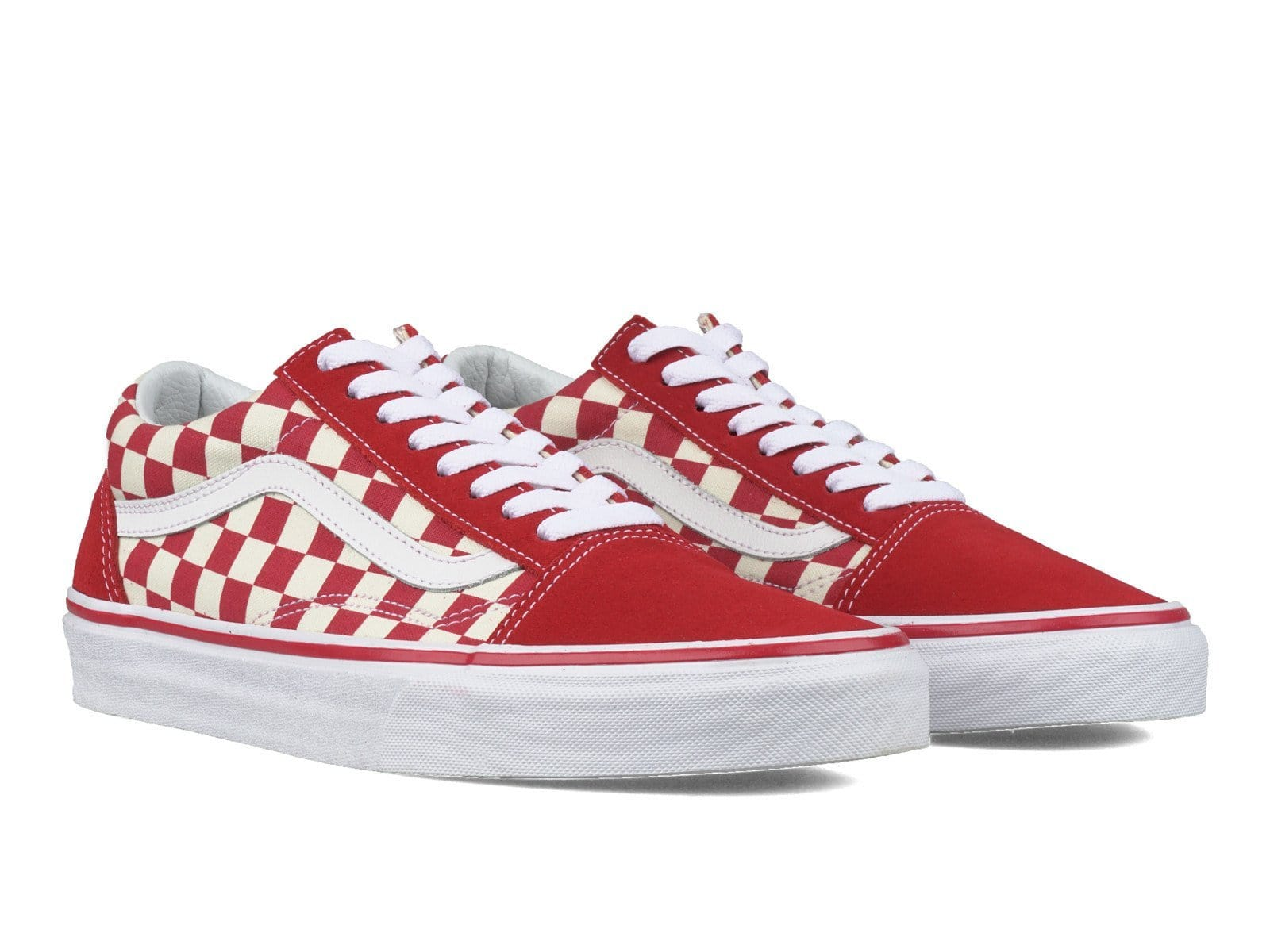 804783bca5fa Vans Old Skool Checkerboard Red White – Bodega