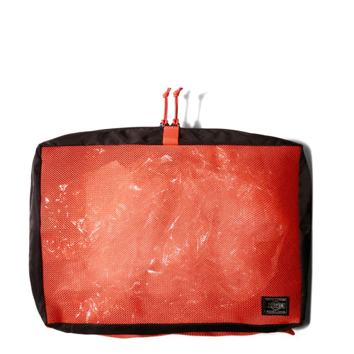 Porter Yoshida POUCH Black/Orange