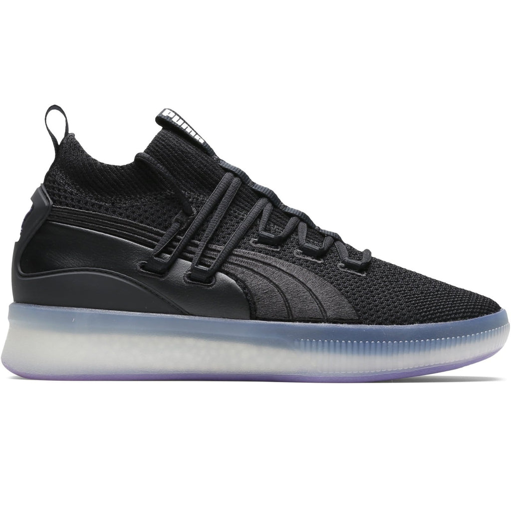 PUMA CLYDE COURT DISRUPT BLACK ELECTRIC PURPLE