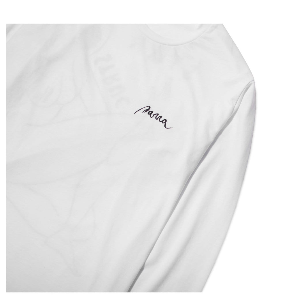 By Parra LONG SLEEVE T SHIRT STAR STRUCK White