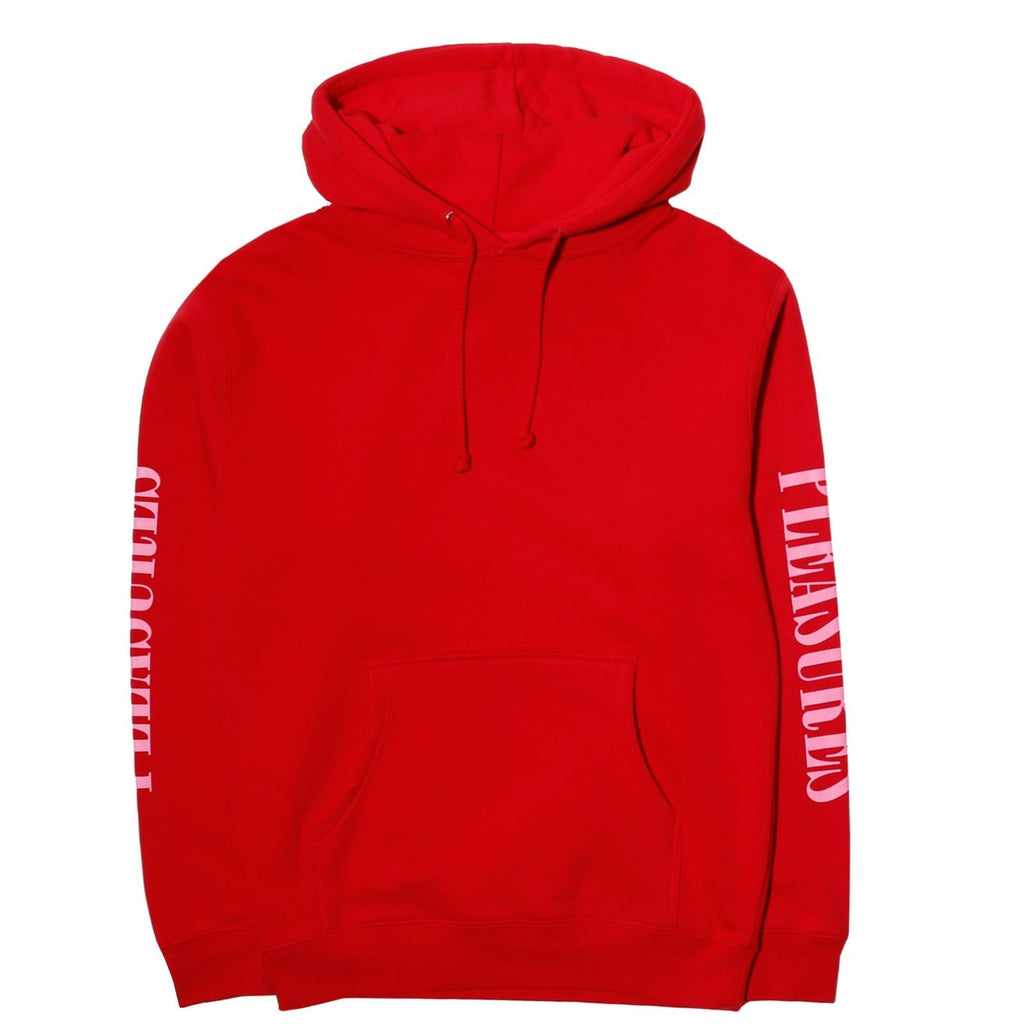 PLEASURES MARK OF THE BEAST HOODY RED