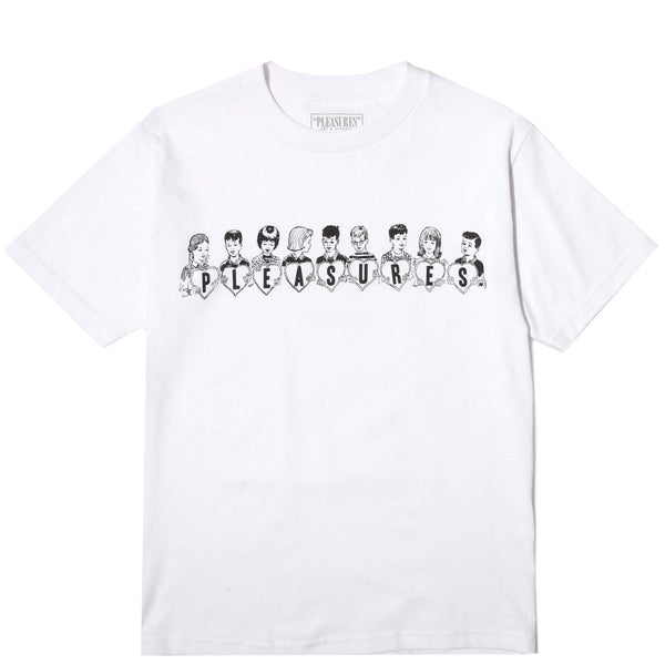 Pleasures VALENTINE T-SHIRT White