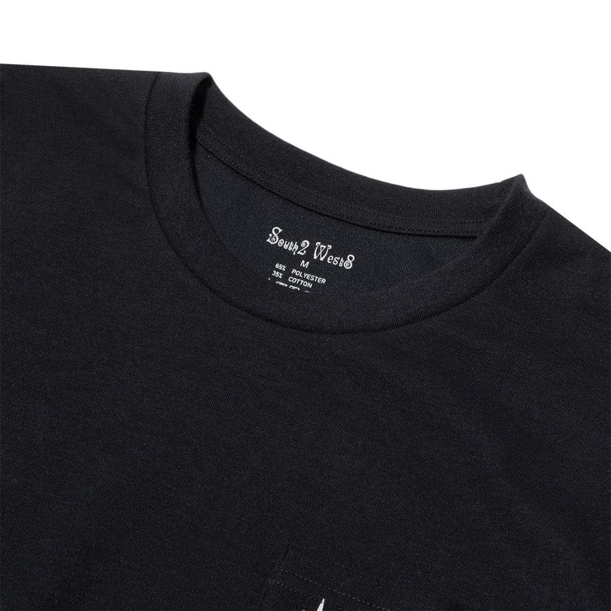 South2 West8 T-Shirts LS ROUND POCKET TEE
