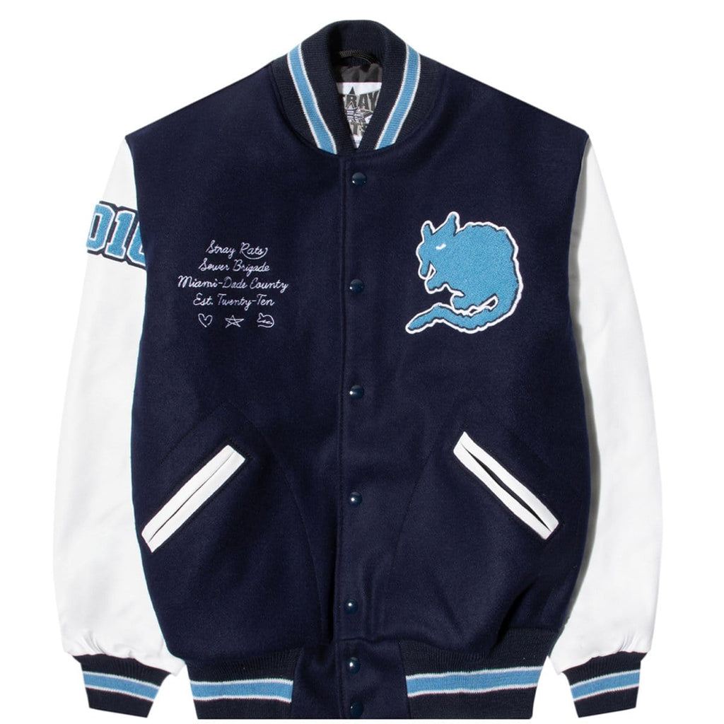 Stray Rats Outerwear 10 YEAR VARSITY JACKET