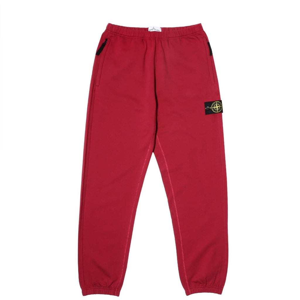 Stone Island FLEECE PANTS 691560543 Dark Red