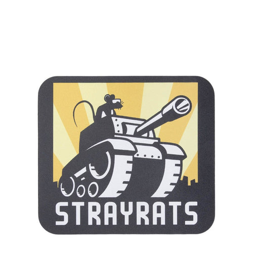 Stray Rats Bags & Accessories MULTI / O/S TANK RAT MOUSEPAD