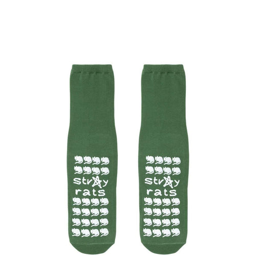 Stray Rats Bags & Accessories GREEN / O/S WONKY FALL PREVENTION SOCKS