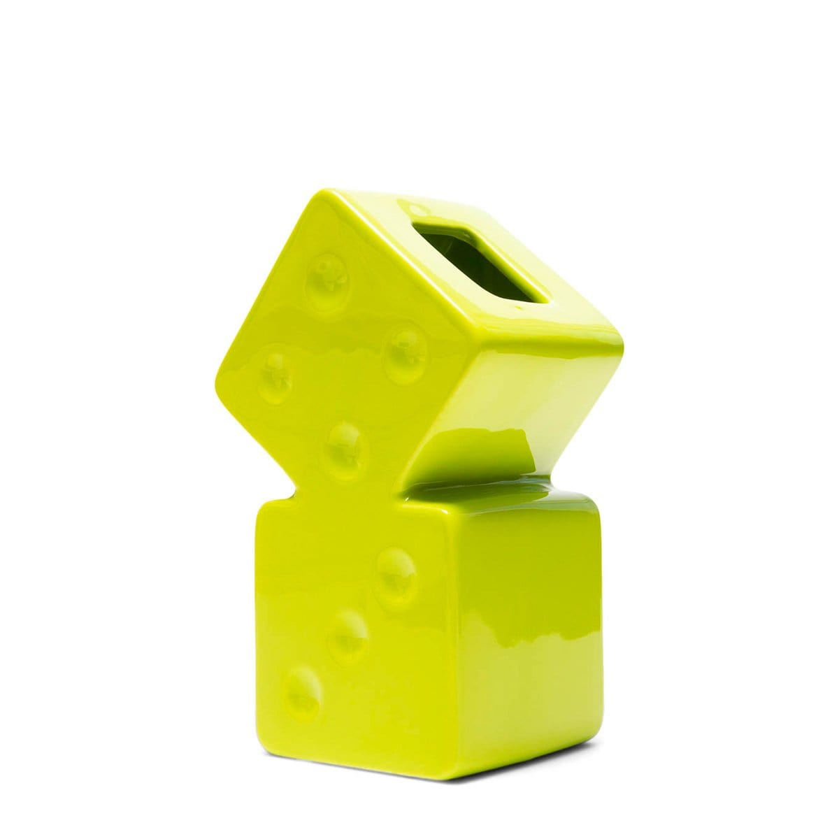 Stüssy Bags & Accessories LIME / O/S DICE CERAMIC VASE