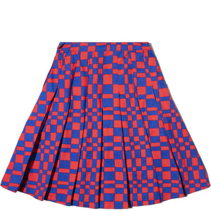 Stussy Bottoms SABI CHECKER PLEATED SKIRT