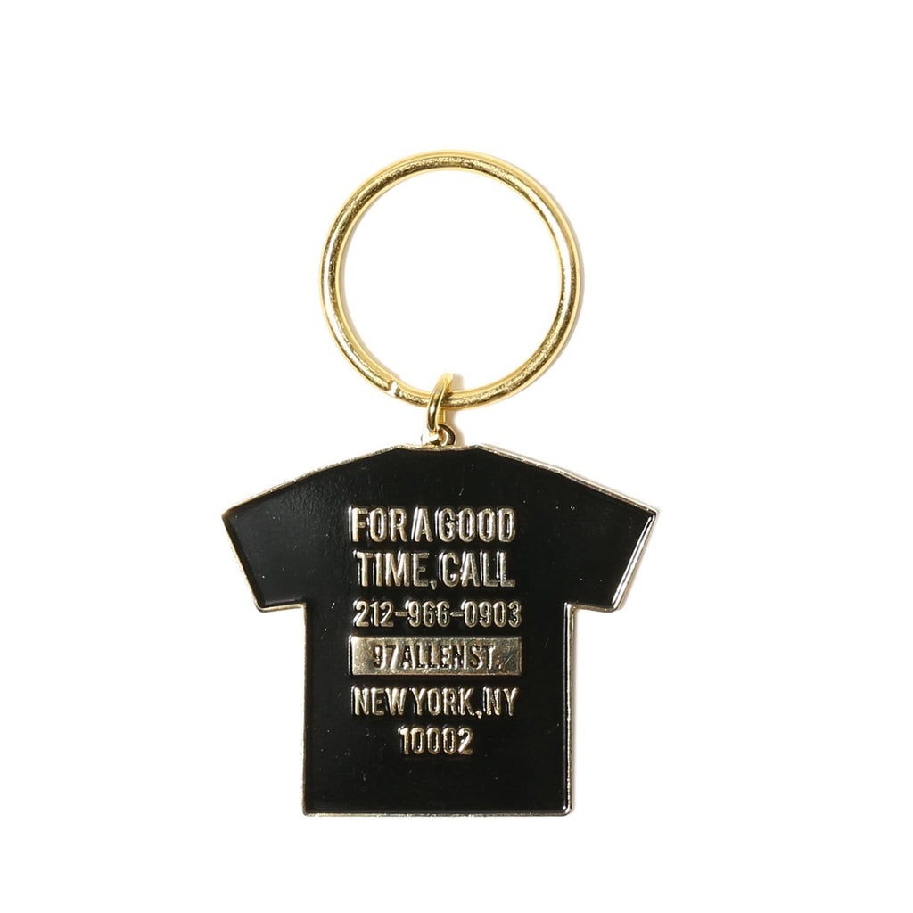 THE GOOD COMPANY GOOD TIME KEYCHAIN BLACK/WHITE