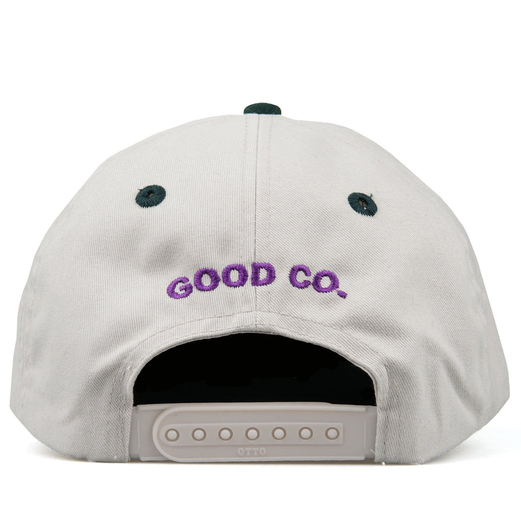 The Good Company CHILL WAVE SNAPBACK White/Green/Purple