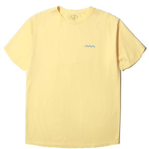 The Good Company CHILL WAVE TEE Squash/Light Blue :
