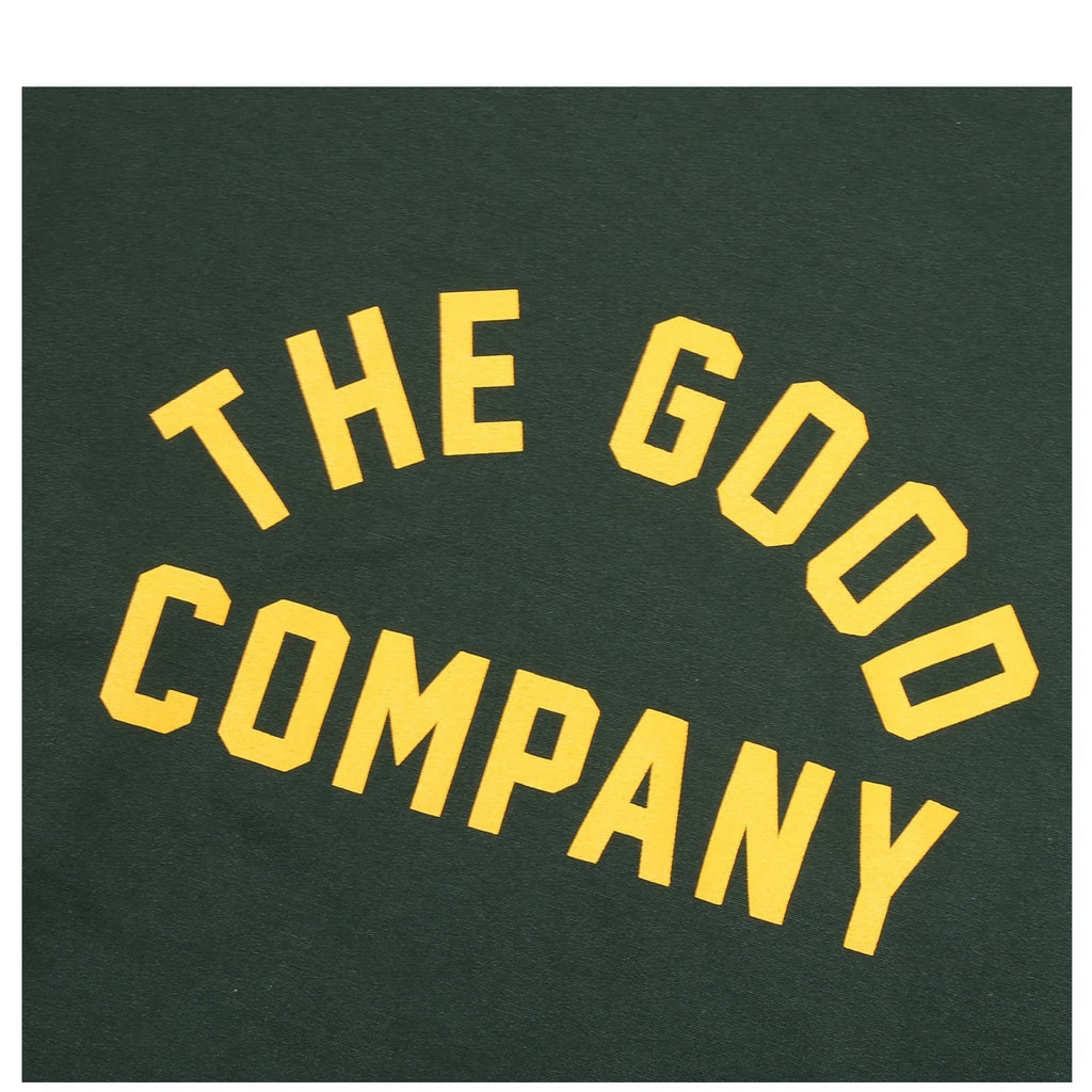 THE GOOD COMPANY L.E.S. STANDARD CREWNECK GREEN/YELLOW