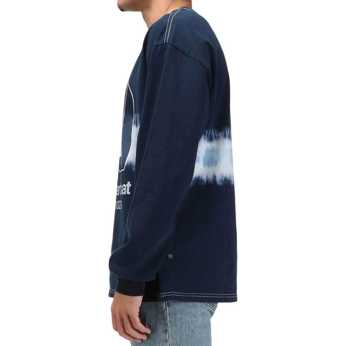 thisisneverthat N-Tie Dye L/SL Top Navy