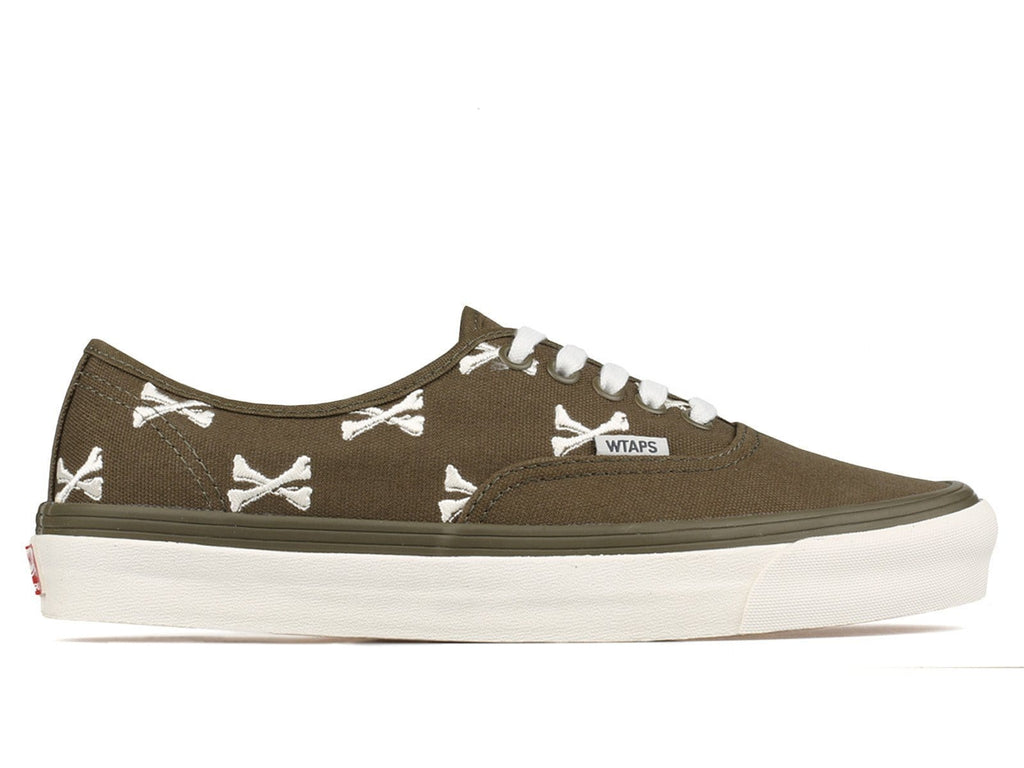 Vans Vault x WTAPS OG Authentic LX Bones Olive/Whisper White