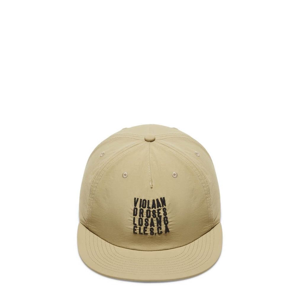 Viola and Roses Headwear BEIGE / OS BOX TYPO SURF CAP