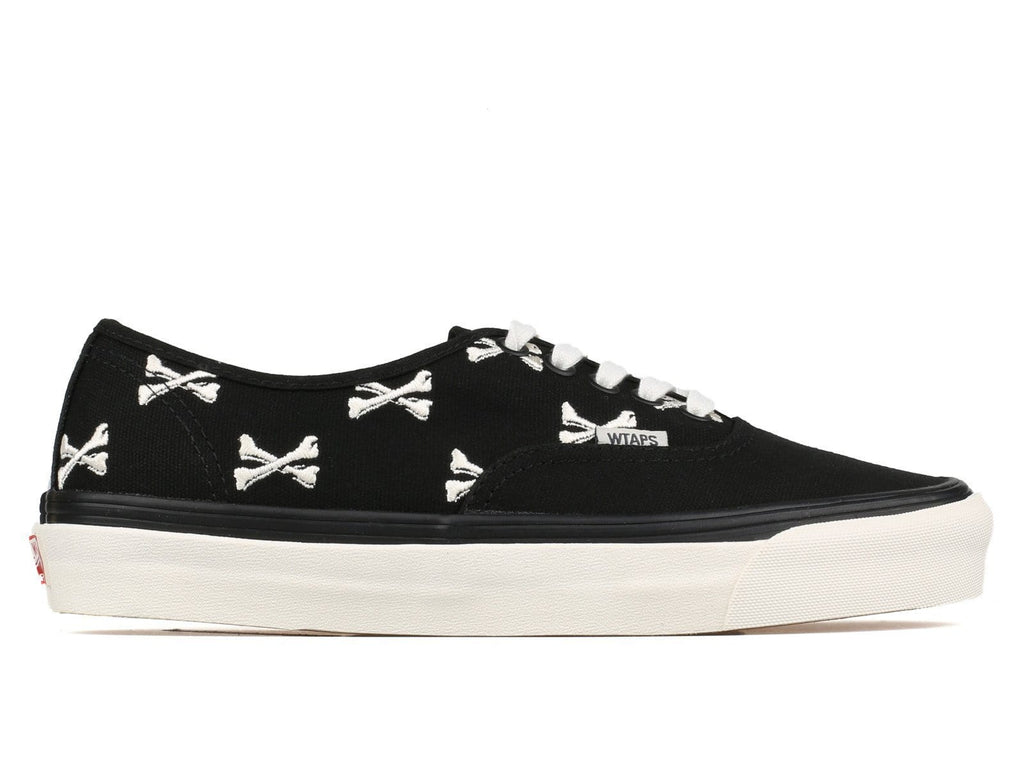 Vans Vault x WTAPS OG Authentic LX Bones Black/Whisper White