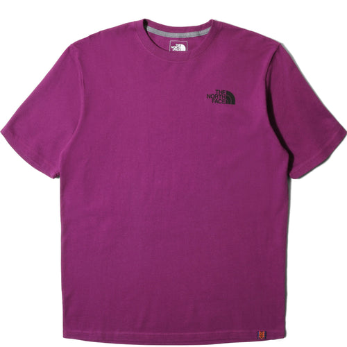 The North Face M S/S HALF DOME HW TEE (PHLOX PURPLE/TNF BLACK) [NF0A3SXY]