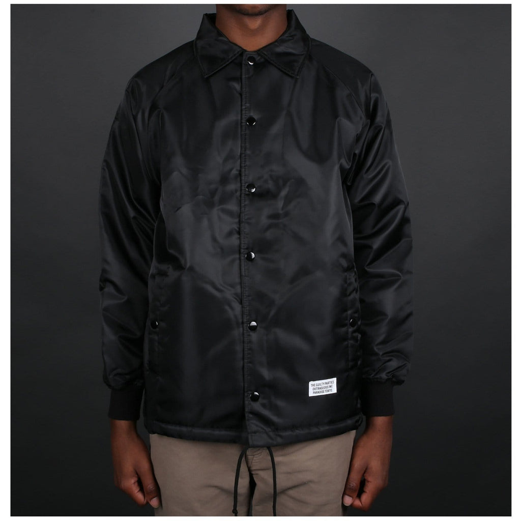 Wacko Maria BOA COACH JACKET ( TYPE-2 ) Black