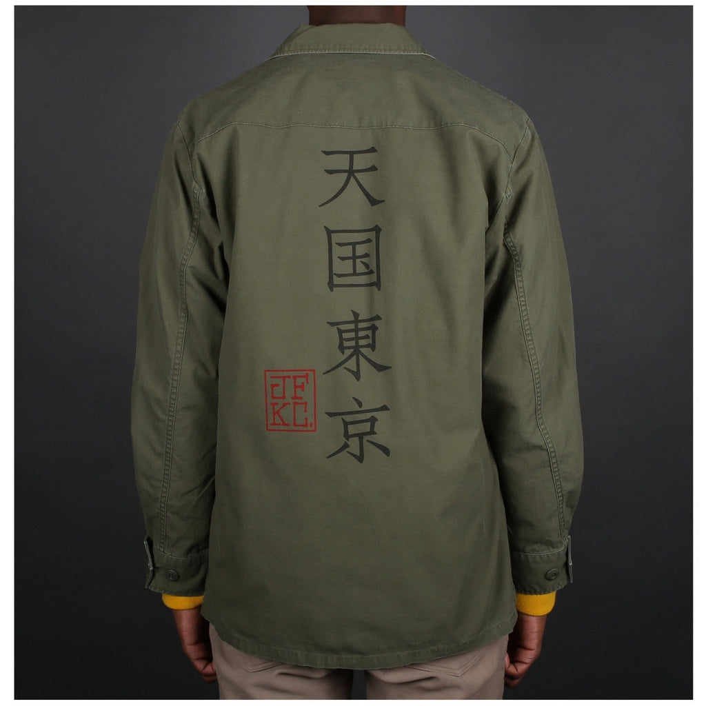 Wacko Maria FATIGUE JACKET1 ( TYPE-2 ) Khaki