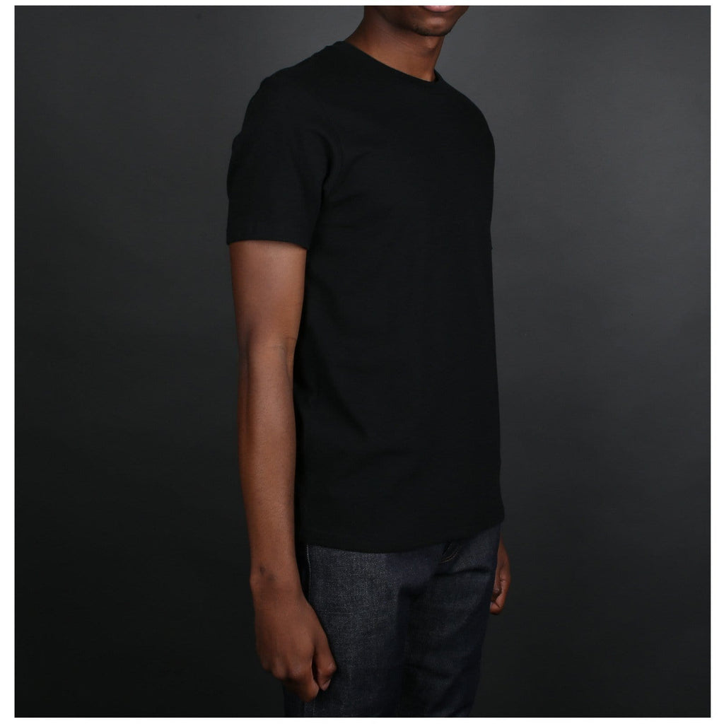 Wacko Maria HEAVY WEIGHT CREW NECK T-SHIRT ( TYPE-5 ) Black