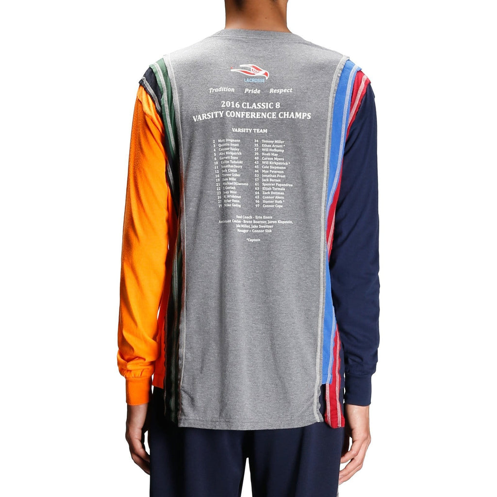 Needles 7 CUTS L/S TEE COLLEGE 5 Assorted