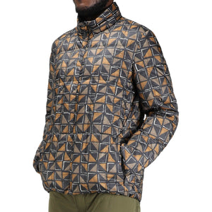 Snow Peak Outerwear PRINTED RECYCLED MIDDLE DOWN JACKET