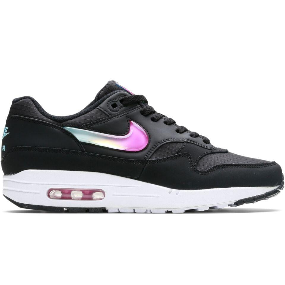 Nike AIR MAX 1 SE (BLACK/BLUE GAZE-ACTIVE FUCHSIA) [AO1021-003]