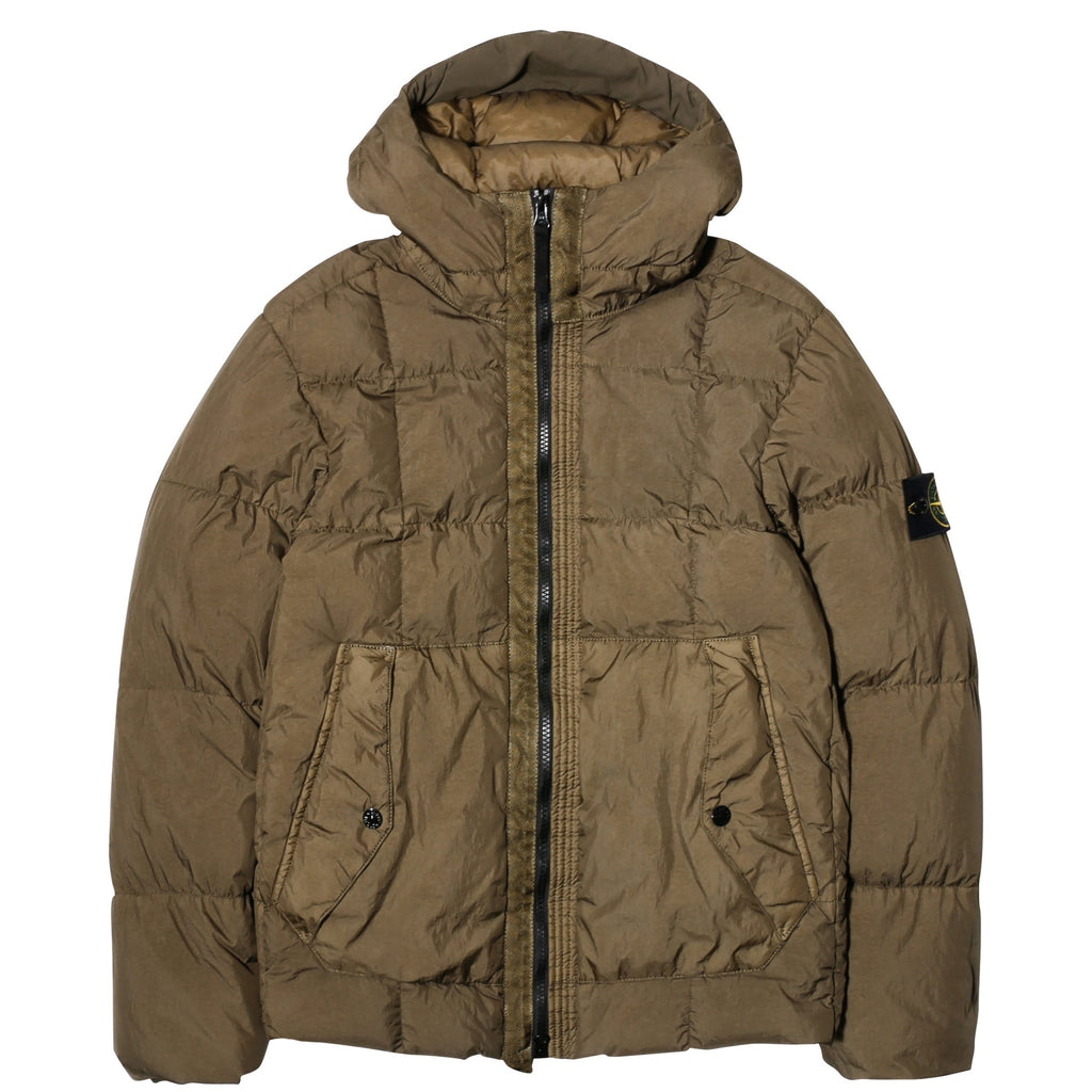 Stone Island REAL DOWN OUTERWEAR 691541223 Olive Green